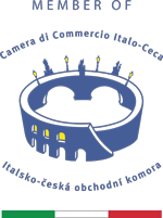 camic logo MEMBER OF vlajka